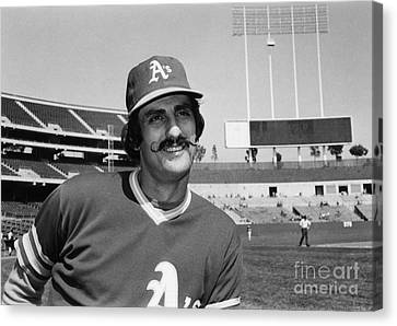 Rollie Fingers (1946- ) Canvas Print by Granger