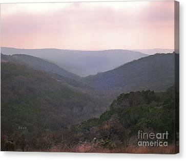 Canvas Print featuring the photograph Rolling Hill Country by Felipe Adan Lerma