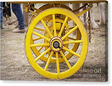 Outmoded Canvas Print - Rolling On by Linda Lees