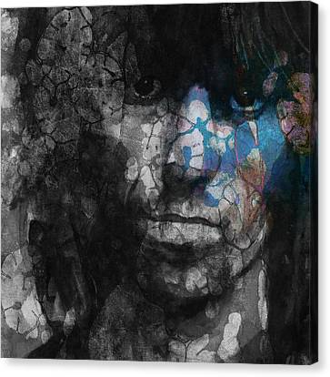 Rolling Stones Canvas Print - Rolling Stoned by Paul Lovering