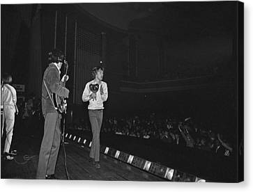 Rolling Stones Play Dublin Canvas Print by Irish Photo Archive