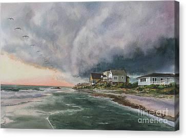 Canvas Print - Rolling Storm by Karol Wyckoff