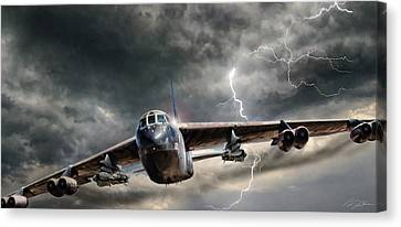 Rolling Thunder V2 Canvas Print by Peter Chilelli