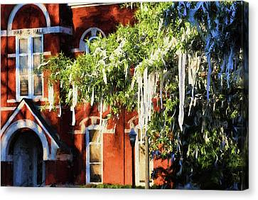 Rolling Toomer's And Hargis Hall Canvas Print