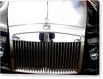Rolls Royce 2 Canvas Print by Jez C Self
