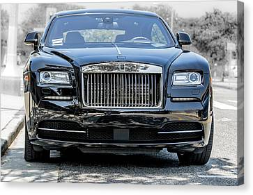 Rolls - Royce Wraith Coupe 2016 Canvas Print