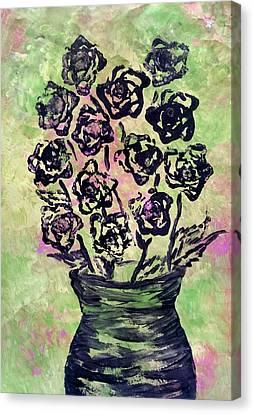 Romaine Lettuce Canvas Print