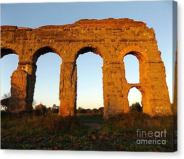 Roman Aqueduct Canvas Print by Alessandro Nesci