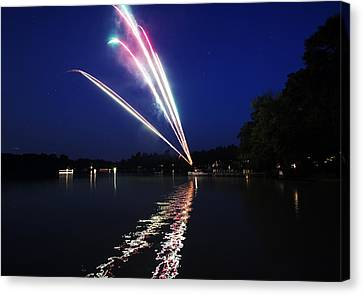 Roman Candle Canvas Print by Ty Helbach