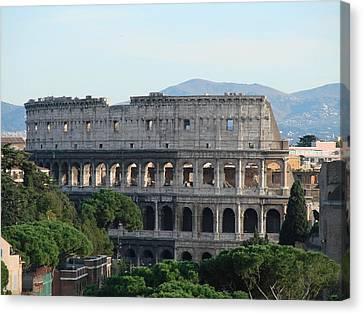 Roman Coliseum 2 Canvas Print