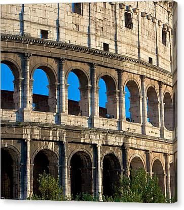 Roman Colliseum Canvas Print