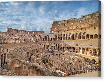 Roman Gladiator Warrior Sparta Colloseum Painting Real Canvas Art Print New