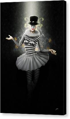 Roman Pierrette Canvas Print by Joaquin Abella
