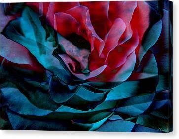 Romance - Abstract Art Canvas Print