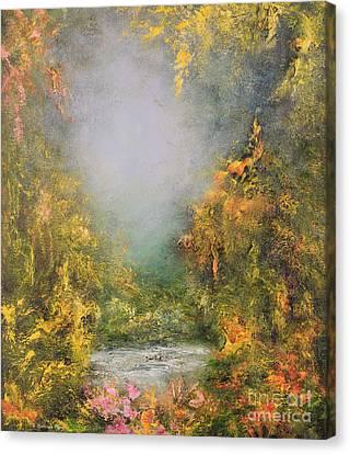 Romance Canvas Print by Hannibal Mane