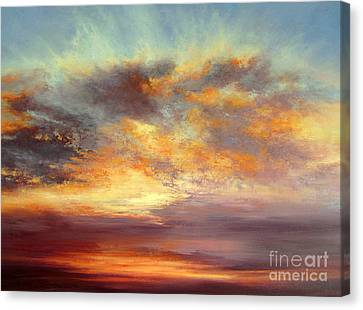Romance Canvas Print by Valerie Travers