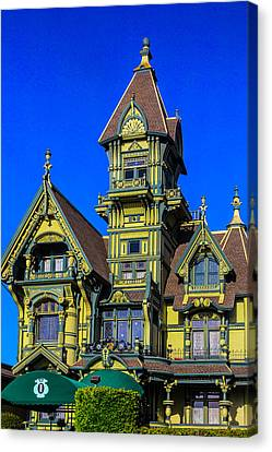 Romantic Carson Mansion Canvas Print by Garry Gay