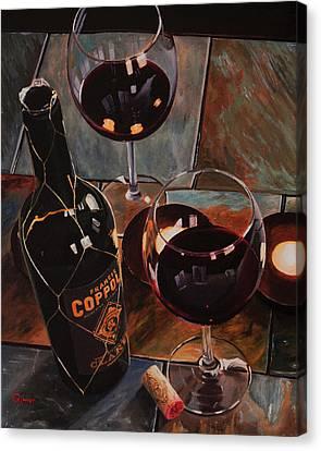 Romantic Evening Canvas Print