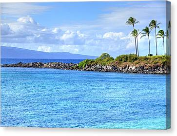 Canvas Print featuring the photograph Romantic Kapalua  by Kelly Wade