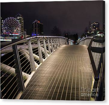 Romantic Proposal Canvas Print by Jim  Hatch