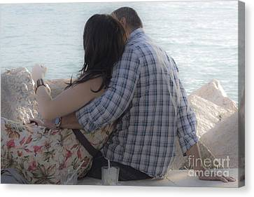 Romantic Whispers Canvas Print