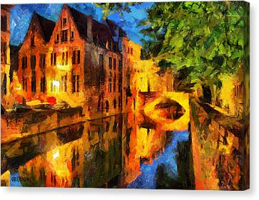 Romantique Canvas Print by Greg Collins