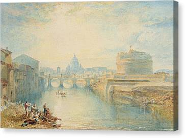 Williams River Canvas Print - Rome by Joseph Mallord William Turner