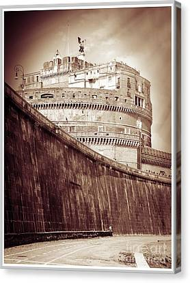 Rome Monument Architecture Canvas Print by Stefano Senise