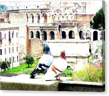 Rome Romance Canvas Print