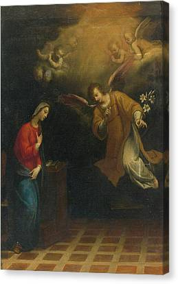 Rome The Annunciation Canvas Print by MotionAge Designs