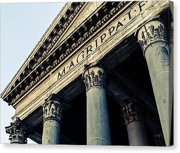 Rome - The Pantheon 2 Canvas Print