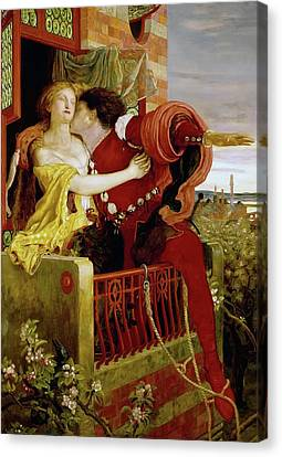 Romeo And Juliet Canvas Print by Ford Brown