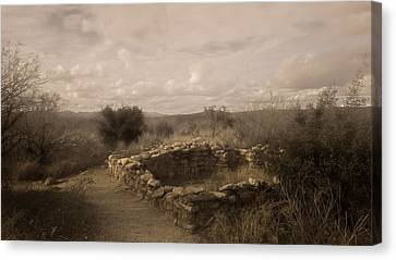 Romero Ruin Canvas Print by Joseph Smith