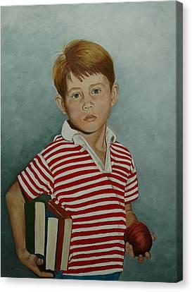 Ron Howard As Opie Taylor Canvas Print by Tresa Crain