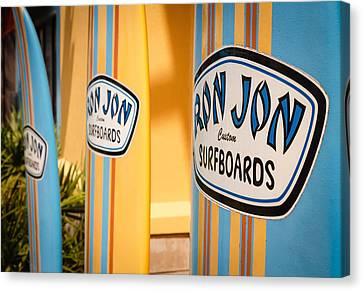 Ron Jon Surf Boards Canvas Print by Gary Oliver