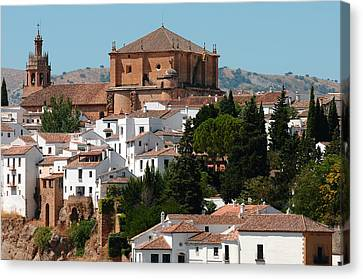 Ronda. Andalusia. Spain Canvas Print by Jenny Rainbow