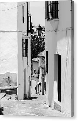 Ronda - Spain - Streets 4 Canvas Print
