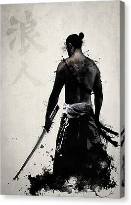 Illustrations Canvas Print - Ronin by Nicklas Gustafsson