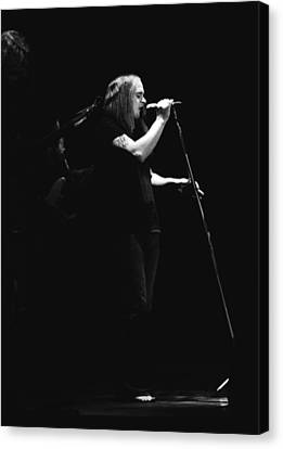 Ronnie At Winterland 1975 Canvas Print by Ben Upham