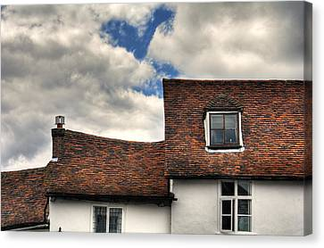 Roof Tops Canvas Print by Tom  Wray