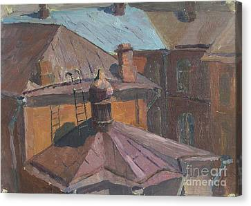 Roofs Canvas Print by Andrey Soldatenko