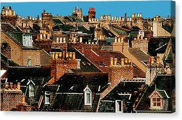 Rooftop Fantasy Canvas Print