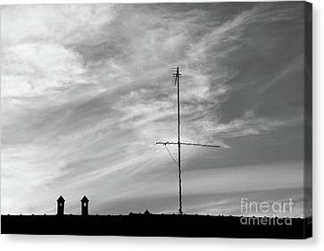 Rooftop In Milan Italy Canvas Print