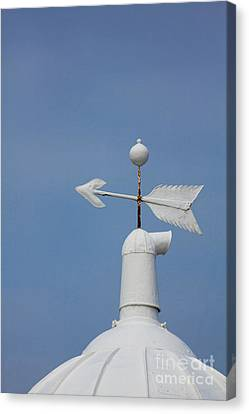 Rooftop Of Lighthouse Canvas Print by Gabriela Insuratelu