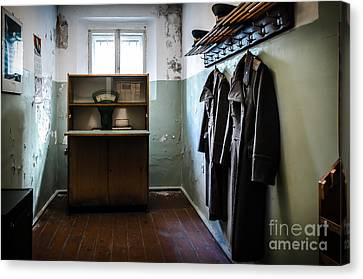 Room For The Kgb Prison Guards Canvas Print by RicardMN Photography