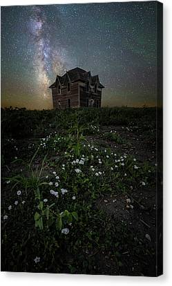 Canvas Print featuring the photograph Room With A View by Aaron J Groen