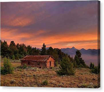 Room With A View Canvas Print by Leland D Howard