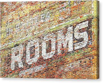 Rooms Canvas Print by Ethna Gillespie