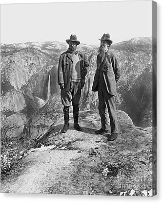 Roosevelt & Muir Canvas Print by Granger