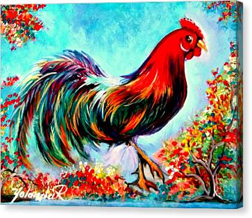 Rooster/gallito Canvas Print